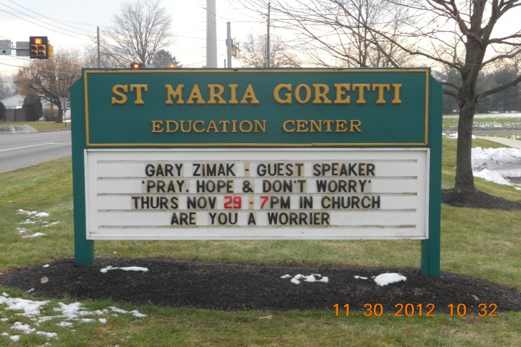 Catholic Speaker Gary Zimak - The leading Catholic Speaker on overcoming anxiety though a personal relationship with Jesus