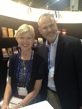 Catholic Author And Speaker Gary Zimak With Fellow Author And Speaker Donna-Marie Cooper O'Boyle.