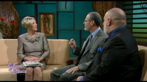 Catholic Speaker and author Gary Zimak on Women of Grace with Johnnette Benkovic on EWTN TV