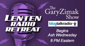 Catholic speaker and author Gary Zimak hosts a daily radio program on BlogTalkRadio