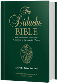 Catholic speaker and author Gary Zimak endorses the Didache Bible from the Midwest Theological Forum and Ignatius Press