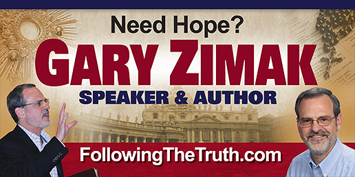 Catholic Speaker Gary Zimak will be appearing at the 2015 Catholic Marketing Network Trade Show