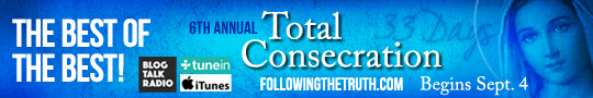 Starting on September 4th, Catholic speaker and author Gary Zimak will once again be leading Total Consecration To Jesus Through Mary on his nightly podcast