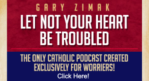 Catholic speaker Gary Zimak now has the only Catholic podcast designed for those who worry