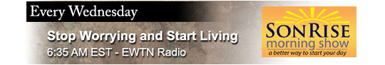 Catholic speaker and author Gary Zimak is a weekly guest on The Son Rise Morning Show on EWTN Radio